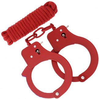 BondX Cuffs & Bondagereb - Röd