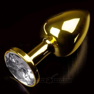Dolce Piccante - Jewellery Plug Gold, Clear Diamond (small)