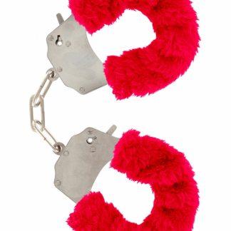 Furry Fun Cuffs (röd)