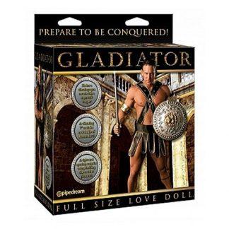 Gladiator Uppblasbar Sexdocka