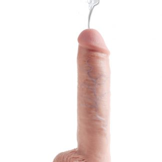 """KING COCK 10"""" SQUIRTING COCK - FLESH"""