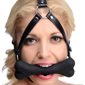 Master Series - Hound, Bone Gag Head Harness