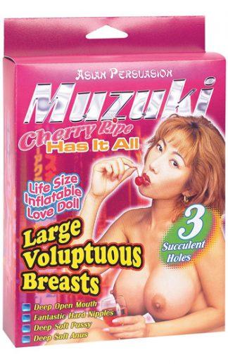 Muzuki Asiatisk Sexdocka