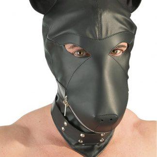 Orion Fetish Collection: Dog Mask, svart