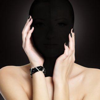 Ouch!: Subjugation Mask, svart