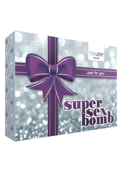 SUPER SEX BOMB PURPLE - SEXLEKSAKER I SET