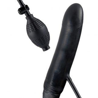 Toy Joy: Bob the Blower, Inflatable Vibrator, svart