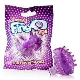 FingO Tips Purple - Fingervibrator