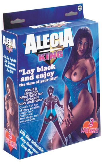 Alecia King Mörk Sexdocka