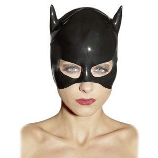 Latex Katt Mask