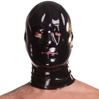 Saxenfelt Latexmask Män
