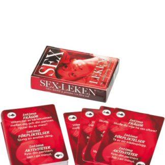 Spel, Sexleken - kortspel för par