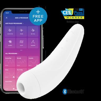 Curvy 2+ Lufttrycksvibrator med App