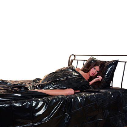 Lack Bettdecke schwarz - Dovet Cover