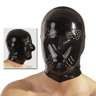Latexmask Med Hål