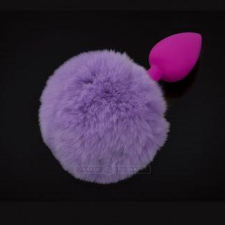 Jewellery Silicone Fluffy Purple - S