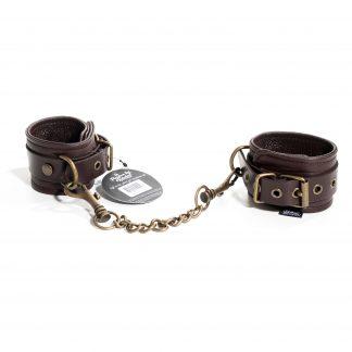 & Restrain Me - Brown Wrist Cuffs