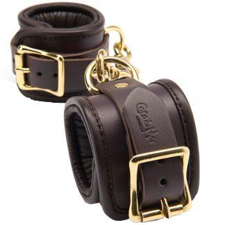 Coco de Mer Handledsmanchetter i Läder