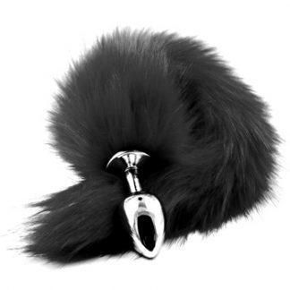Fox Tail Plug Black
