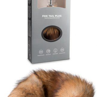 Fox Tail Plug Silver